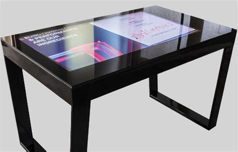 tavolo interattivo touchwindow il tavolo interattivo tecnologicamente avanzato