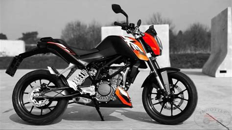 Ktm Duje 125 Ktm Duke 125 Impressions Throttlequest
