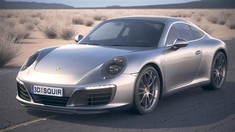 Porsche Carrera Models by Porsche 911 Carrera 3d Model