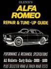 Alfa Romeo Giulia Spider Repair Amp Service Manual 1962 1978