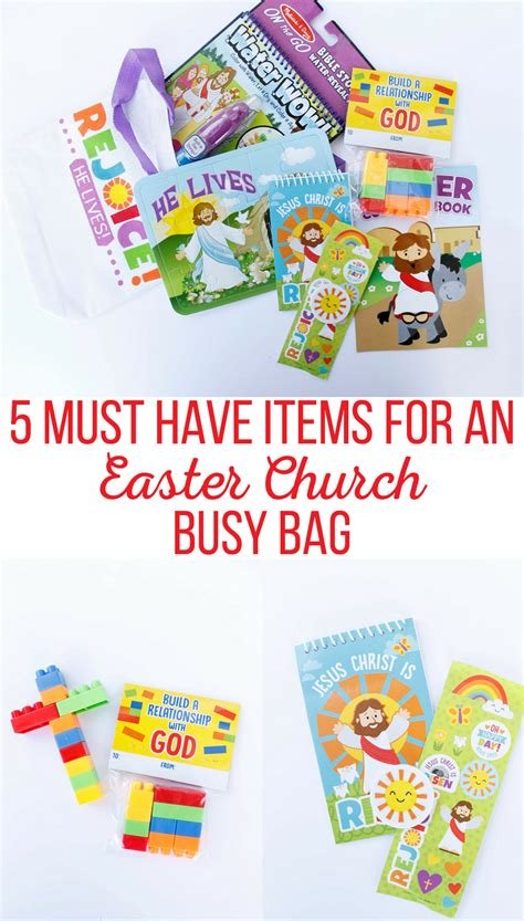 Parenting You Must Products For Busy by 5 Must Items For An Easter Church Busy Bag Pin The