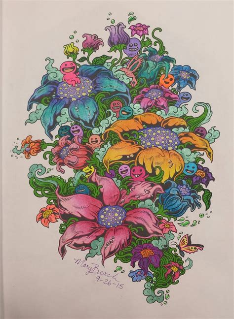 doodle god flowers 78 best images about colouring on