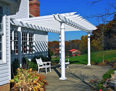 Custom Designed Vinyl Pergolas Penn Fencing Custom Made Pergola