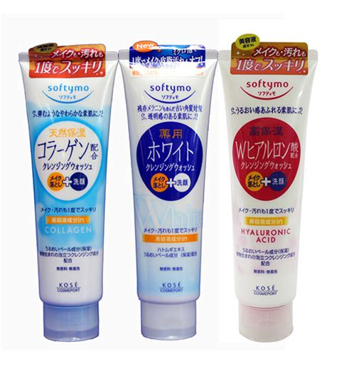 Kose Softymo Cleansing Wash White 190g sữa rửa mặt kose softymo collagen white ha nhật bản