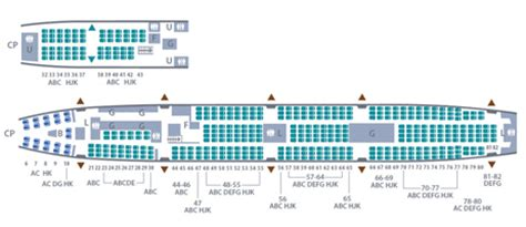 garuda plus seat layout seat map garuda indonesia