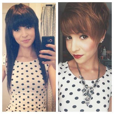 haircut before and after tumblr 22 exemples de coiffures avant apr 200 s pour changer de look
