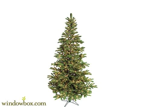 7 5 ft arizona pre lit fir artificial christmas tree w