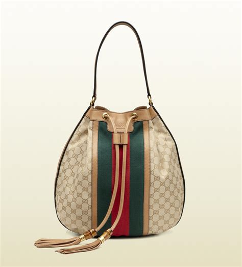 Gucci Bags by Gucci Rania Drawstring Shoulder Bag All Handbag Fashion