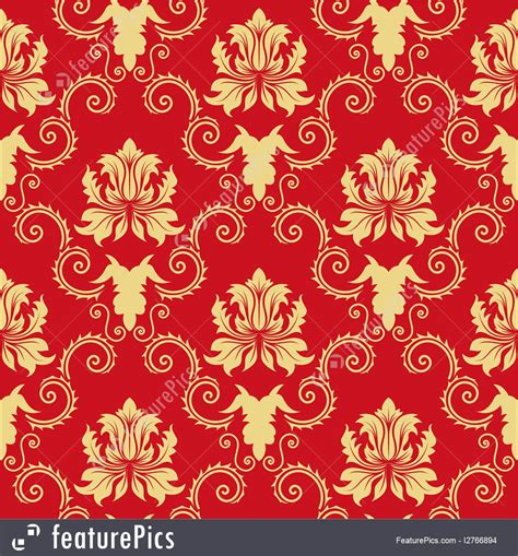 gold red pattern abstract patterns red and gold ornate pattern stock