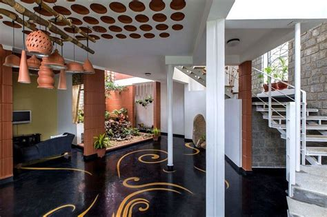 interior  blends traditional indian features