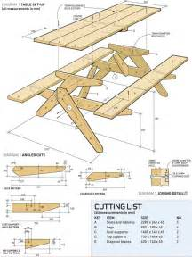 woodworking p where to get picnic table plans pdf