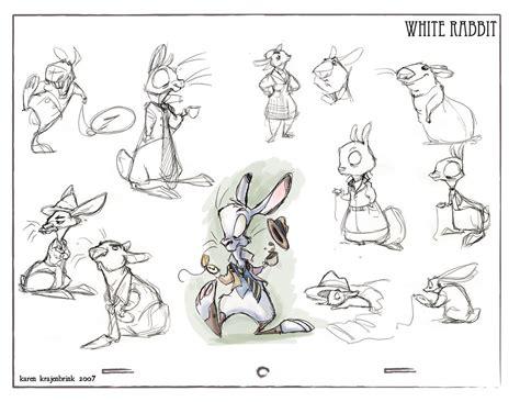 doodle creatures how to create rabbit the white rabbit by kayjkay deviantart on deviantart
