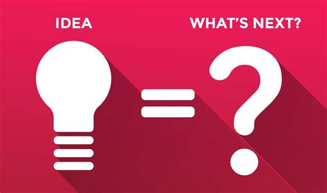 new idea we have a new idea what s next