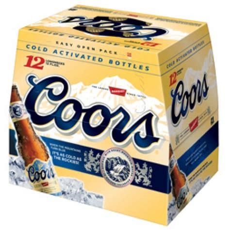 12 pack of coors light price coors original 12pk bottle