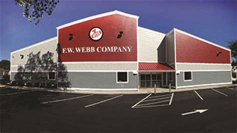 Fw Webb Plumbing Supplies by F W Webb Company Opens New Location In Falmouth Ma