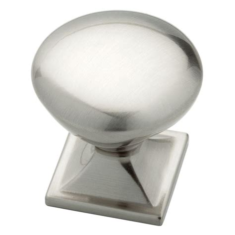 liberty 1 1 4 in satin nickel hollow cabinet knob p11747v sn c liberty southton 1 1 4 in satin nickel square base