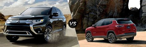 2019 Jeep Outlander by 2019 Mitsubishi Outlander Vs 2019 Jeep Compass