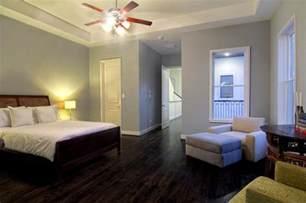 dark wood floor soft walls home interior painting ideas