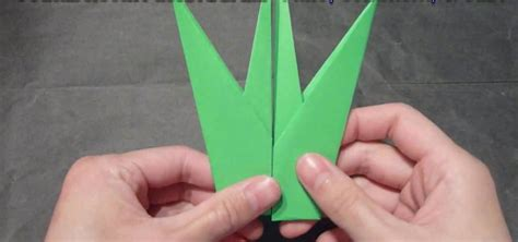 how to craft a delicate origami tulip leaf 171 origami
