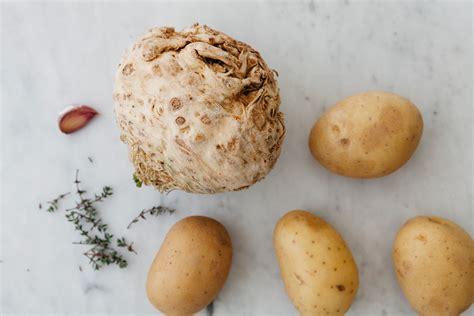 pur 232 di patate e sedano rapa