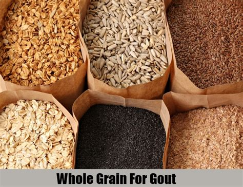whole grains uric acid 5 valuable diets for gout dietary treatments for gout