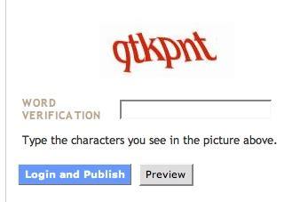 Word Verification On Comments by Qtkpnk Word Verification Cogdogblog