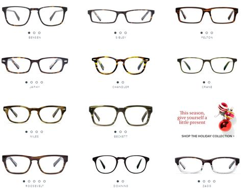 warby a different of eyeglass company