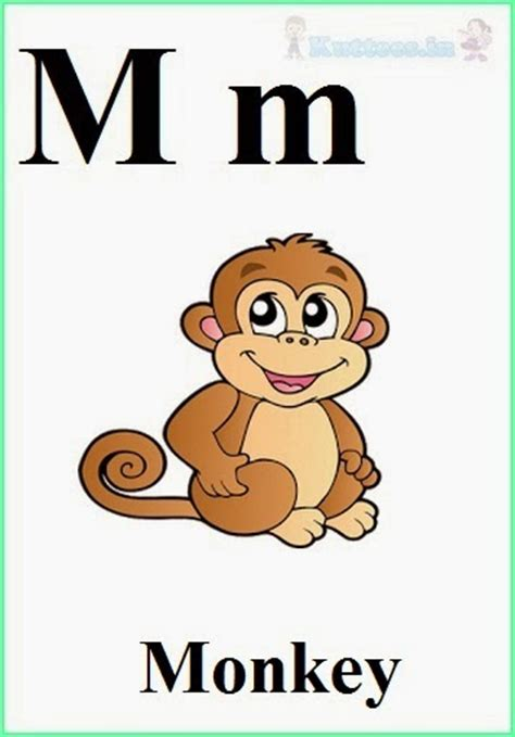 words of alphabet m mustaches and monkey free alphabet kuttees in english alphabets flash cards for children