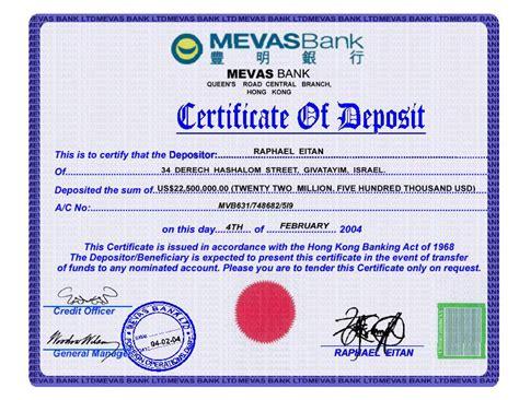 certificate of deposit template mac s bait store ntai cocktail