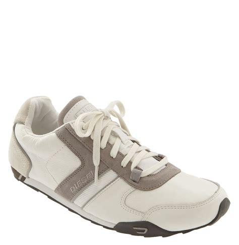 diesel sneaker diesel loop sneaker in white for chalk white lyst