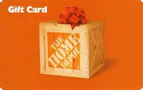 home depot gift card amount free home depot gift card 25 value the daily goodie bag