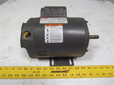 motor capacitor purpose dayton 6k347d general purpose electric motor capacitor start 1hp 3450rpm 115 230 ebay