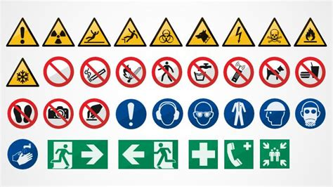safety sign templates safety signs for powerpoint shapechef