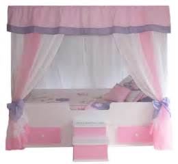 Princess Canopy Bed Butterfly Canopy Bed With Bedding