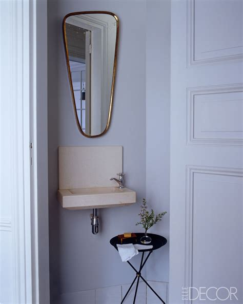 mini bathroom 8 small bathroom decorating design ideas elle decor