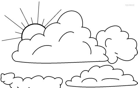 Coloring Pages Of Clouds free coloring pages of cloud color pages
