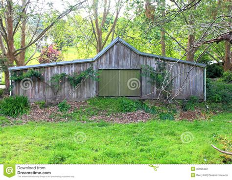 australian farm shed stock photo image of aged decay