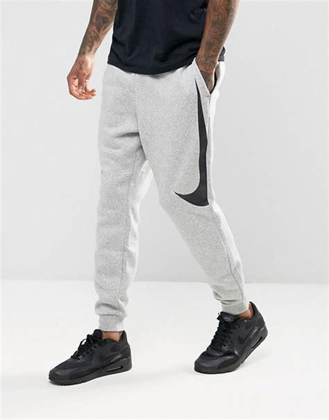 Joger Nike Original Asli Grey nike nike hybrid swoosh joggers in grey 861720 063