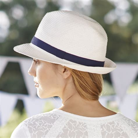 Asos Basic Straw Trilby Hat watts displays style for out in