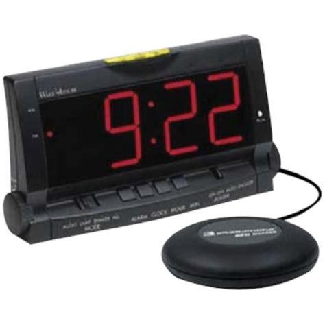 alarm clock bed clarity wake assure alarm clock with bed vibrator alarm