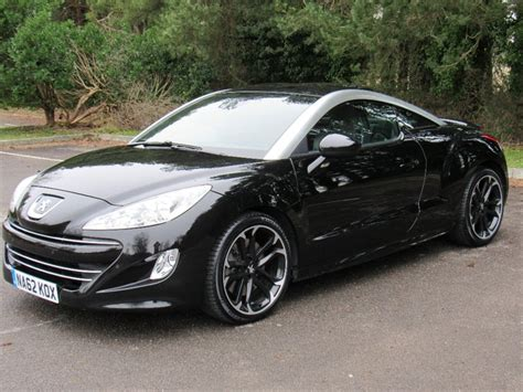 peugeot rcz black used black peugeot rcz for sale dorset