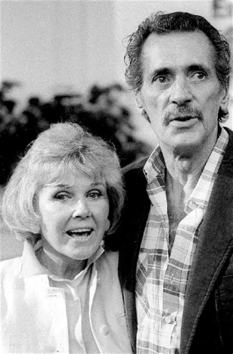 rock hudson and doris day rock hudson with doris day shortly before his death in 1985