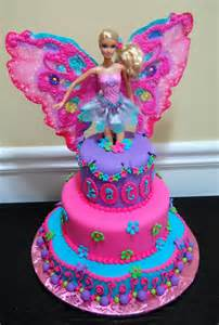 25 best ideas about barbie fairy cake on pinterest