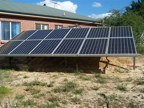 grid solar solar system kit grid 24v 30kwh standby power 10kw p day house shed boat ebay