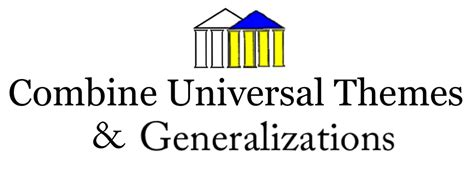universal themes gifted education combining universal themes envision gifted