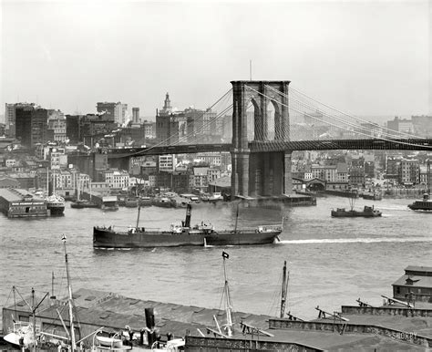 boat slip new york city cityscapes buildings brooklyn bridge new york city