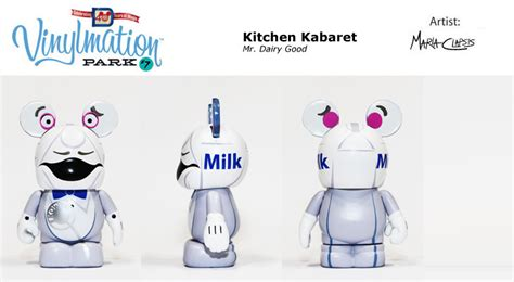 Vinylmation Kitchen Kabaret Mr Dairy