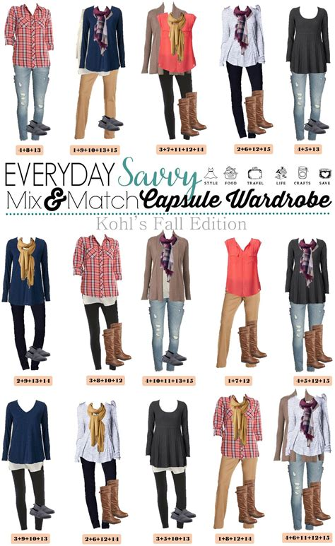 Mix And Match Wardrobe Pieces by Mix And Match Casual Fall From Kohls