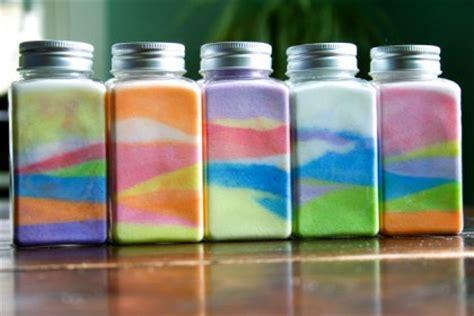 colored salt make a colored salt jar dollar store