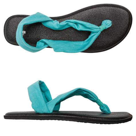 Shoes Made From Mats by Sanuk Triangle Mat Sandals Everything Turquoise